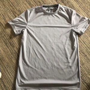 Starter men's moisture wicking gray shirt small